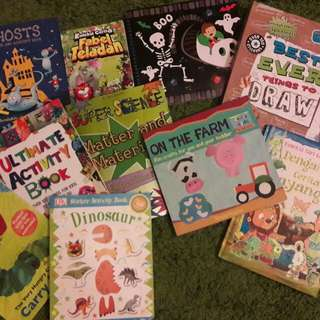 Almost new children books