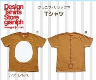 日本 4月新品 鬆弛熊 衫 T 恤