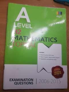 H2 Math 2006-2015 Topical