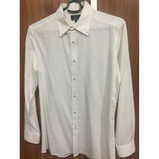 G2000 mens white long sleeves Slim Fit L