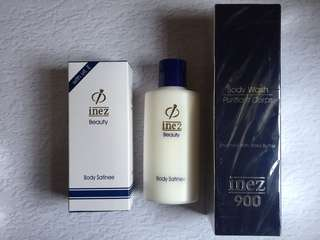 Inez Beauty Body Wash And Body Lotion Set