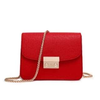 Korean leather ladies bag #6690