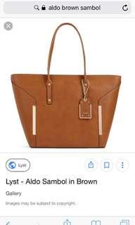 REPRICED Aldo Sambol Tote Bag (brown)