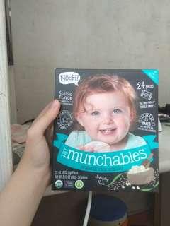Nosh! Tot munchabls organic rice snacks
