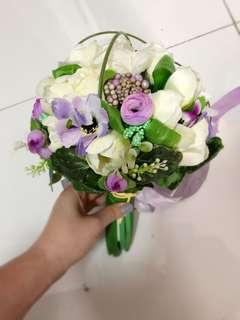 婚禮絲花花球