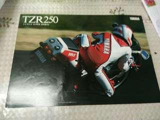 Yamaha tzr250 catalog