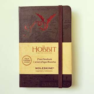 Moleskine The Hobbit Limited Edition Plain Notebook