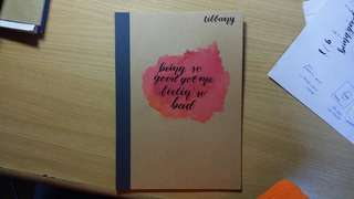 ready made and customised notebooks
