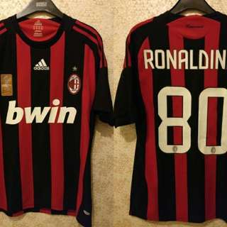 Authentic AC Milan home jersey 2008