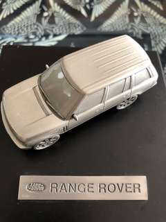 Land Rover (Range Rover) brass miniature