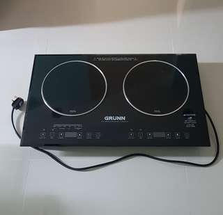 Induction and infrared cooker