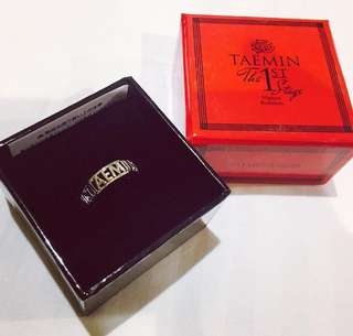 LOOKING FOR ! Taemin First Stage & Off Sick Solo Concert Ring