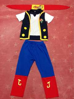 Jake (and the Neverland Pirate) costume for boys 5 yrs old