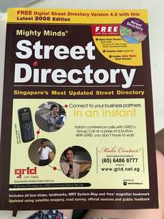 Street Directory - 2008 edition