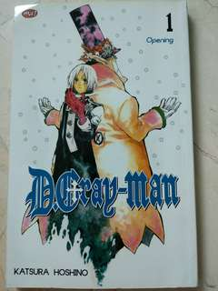 D.Gray-Man (Vol. 1-2)