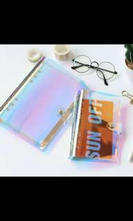 Po holographic Notebook holder