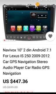 Navigation Upgrade Lexus IS250 2006-2013