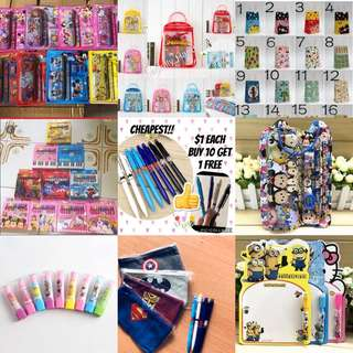 PARTY SUPPLIES/ GOODIE BAG / STATIONERY SET