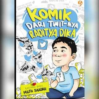 Ebook Komik Dari Twit-nya Raditya Dika