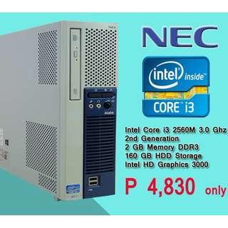 NEC core i3 2nd gen super sale accepting wholesale 25pcs available big discount