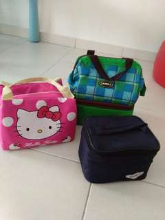 Cooler bag + breastpump bag