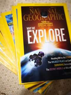 Complete Nat geo 2013 collection