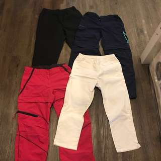 Girl's hiking or track pants