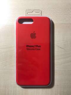 Product Red Silicone Case for iphone 7plus 8 plus