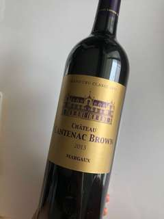 紅酒 Red wines - Margaux Grand Cru Classé 1855 - Château Cantenac Brown 2013