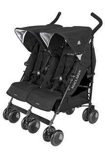 REDUCED: Maclaren Techno Twins Stroller