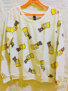 Bart Simpson Pull over