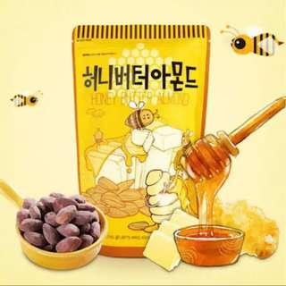 Honey Butter Almond/Wasabi Preorder