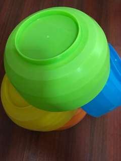 Colorful Bowls for babies and kids
