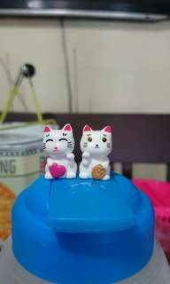 Fortune Cat Figurines