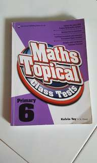 P6 Maths Tropical Class Test