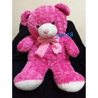 Boneka Beruang Pink Big Bear