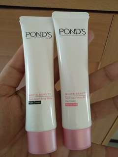 Ponds white beauty night and day cream
