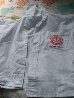 Pasig Catholic College PCC uniform boys polo