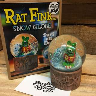 Rat Fink Snow Globe