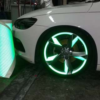 Car Rim Wheel Sticker Wrap