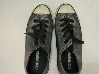 Authentic converse leather sneakers