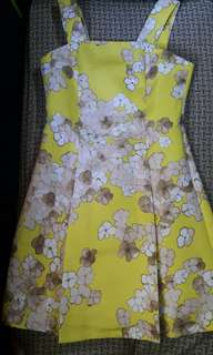 CLN yellow dress (size: M)