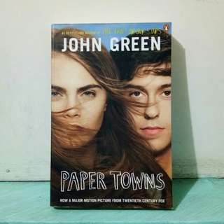Paper Towns (movie tie-in cover)