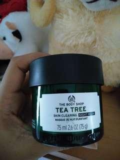 The body shop nightmask tea tree