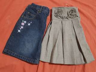 Oshkosh and Periwinkle skirt bundle