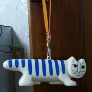 環保袋+貓咪造型收納盒