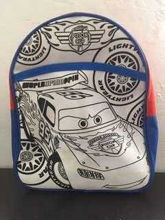 Lightning McQueen Toddler Backpack