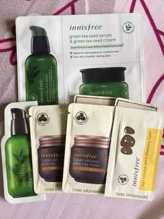 Innisfree Sample 30K for all items!