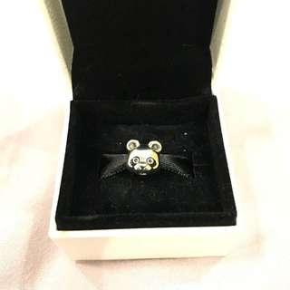Authentic Pandora Panda Silver Charm