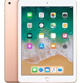 全新 2017 iPad 32G WIFI 金色